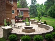 Frugal Patio Ideas with Fire Pit on a Budget Cheap Fire Pit For Amazing Paved…