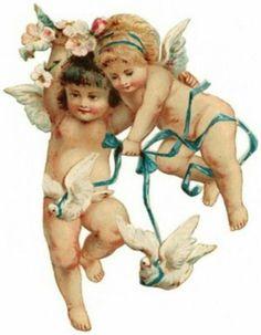 Angels vintage #angels #vintage by clarissa