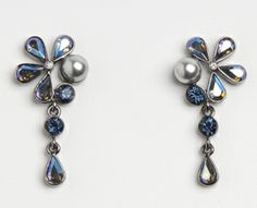 This earring has it all! 90301-E MADE WITH SWAROVSKI ELEMENTS Belly Button Rings, Swarovski, Canada, Drop Earrings, Jewelry, Fashion, Moda, Jewels, Fashion Styles