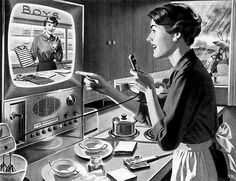 ... shopping by TV by x-ray delta one, via Flickr