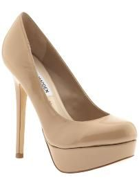 Every girl should have a pair of nude pumps in their wardrobe. For $40 bucks, not too shabby