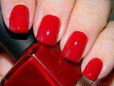 datyorkLOVES: 31 Day Challenge- Day 1 Red Nails