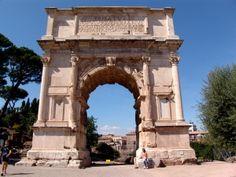 Arch of Titus in the Roman Forum