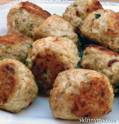 Healthy Italian Meatballs Recipe. Re-pin now, check later. #cleaneating #healthyrecipe