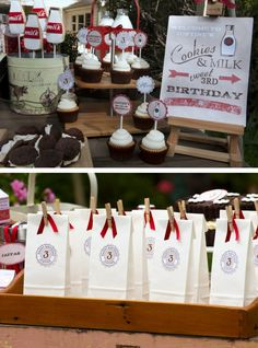 Party Favors display