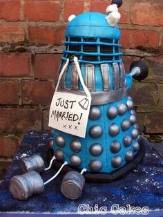 Tardis, dalek both kinda cool cakes