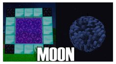 How to Make a Portal to the MOON in Minecraft (No Mods)