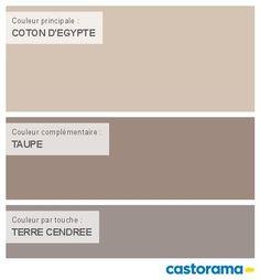 Castorama Nuancier Peinture - Mon harmonie Peinture COTON D'EGYPTE satin de DULUX VALENTINE Crême de couleur