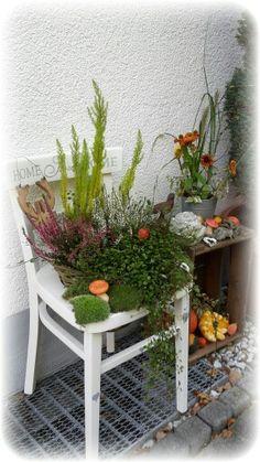 Herbst dekoration weinkisten deko pinterest craft - Herbstdeko kindergarten ...