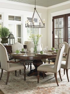 Use A Round Table Instead Of A Rectangular Table In Your Formal Dining Room  And You