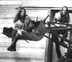 Janis Joplin and James Gurley!