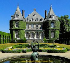 Château Solvay, also called the Château de La Hulpe La Hulpe, Walloon Brabant, Belgium. http://www.castlesandmanorhouses.com/photos.htm The château was built by the Marquis de Béthune in the French style in 1842. In the late 19th century, the house and estate were acquired by Ernest Solvay, and have since been known as the Domaine Solvay.