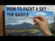 Tutorial #001 - How to Paint a sky with Michael James Smith - YouTube. Please also visit www.JustForYouPropheticArt.com for more colorful art you might like to pin. Thanks for looking! Pin all you want <3