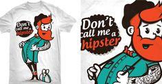 Haha!  Hipsters...