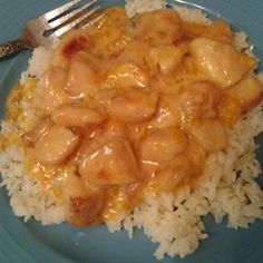 Creamy Orange Chicken: Heat 3 Tbs olive oil in skillet over medium-high heat. Lightly coat 2 chicken breasts in 1/4 C flour, shaking off excess, and brown in oil on both sides. Stir in 2 oz orange liqueur, & 1/2 C milk. Reduce heat, and simmer until liquid has reduced by half. Remove chicken from pan when no longer pink in center. Add 1/2 C Mandarin oranges and allow the sauce to reduce another 5 minutes. Stir in 1/4 C chives. Salt and pepper. Serve over rice w/ broccoli or steamed veggies.