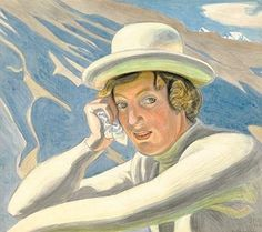 Artwork by Jens Ferdinand Willumsen, Middags Solskin, Made of Pencil, watercolour and gouache on paper
