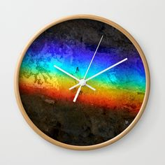 """Good times! Rethink the traditional timepiece as functional wall decor. You'll love how our Artists are converting some of their coolest designs specifically into Wall Clocks. Constructed with premium, shatter-resistant materials, with three frame color options.      - Natural wood, black or white frame options   - Dimensions: 10"""" diameter, 1.75"""" depth   - Choose black or white hands to match frame or design   - High-impact plexiglass crystal face   - Backside hook for easy hanging Wall Clocks, Wall Prints, Natural Wood, Good Times, Cool Designs, Wall Decor, Hands, Graphics, Artists"""