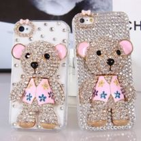Free Shipping $19.99 Package : 1 full rhinestone case  If you want no full rhinstone on the case please check my store  Thanks.