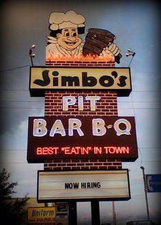 Jimbo's Pit Bar B-Q.... Tampa, Florida