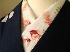 Under kimono collar Japanese Textiles, Japanese Fabric, Japanese Outfits, Japanese Fashion, Traditional Fashion, Traditional Dresses, Hanfu, Geisha, Furisode Kimono