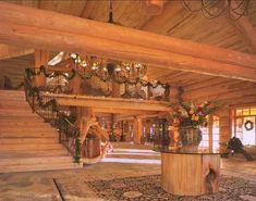 Log Home Interior On Pinterest Log Home Interiors Log Homes And Log