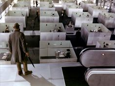 """Playtime"" by Jacques Tati,1967 © Les Films de Mon Oncle"