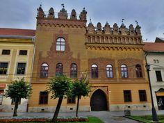 Thurzo house in Levoča, Prešov region, Slovakia