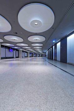 Illumination: Business Area, Olympic Hall / pfarré lighting design