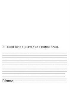 Polar Express writing