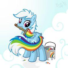 Rainbow Secret by Don-ko.deviantart.com on @deviantART