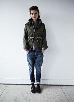 Army jacket   jeans  Army Jacket #2dayslook #duongdayslook #ArmyJacket  www.2dayslook.com