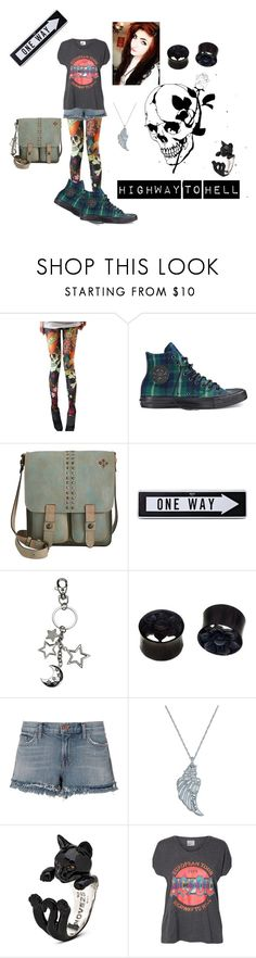 """""""Another Day"""" by kawiiemo ❤ liked on Polyvore featuring Converse, Patricia Nash, Moschino, NOVICA, J Brand and Vero Moda"""