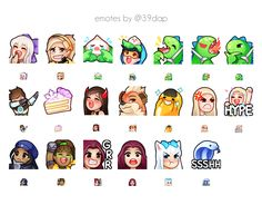 12 Best Twitch emotes images in 2018 | Digital paintings