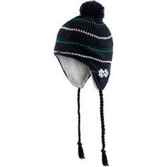 Notre Dame Fighting Irish Navy Big Rib Pom Top Tassel Sherpa Knit Hat   21.99 http  61d6508bbb83