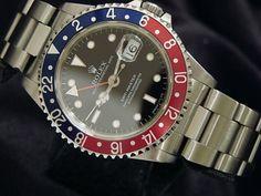 Mens #Rolex Stainless Steel Gmt-Master Date #Watch #Pepsi - #luxury #fashion