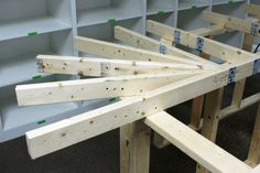 Building a Train Platform – Basic Benchwork Train Platform, Model Training, Making A Model, Standard Gauge, Train Table, Small Shelves, Model Train Layouts, Train Set, Classic Toys