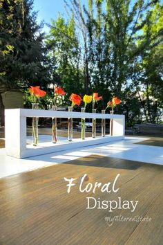 DIY Floral Display