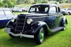 1935 Ford V8 Coupe | At Auckland , NZ .