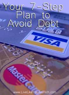 This is a great Do it yourself plan to avoiding debt! Christmas and New Years is a great time to read through this and become recommitted -if need be-.