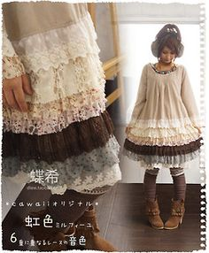Mori Girl dress on Taobao: [$14.96]