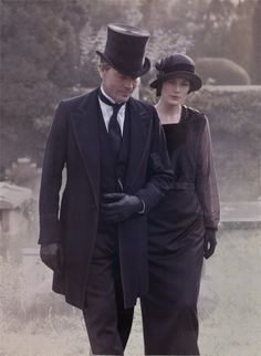 Downton Abbey Lady Mary with suitor Sir Richard Carlyle