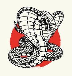 Cobra Tattoo, Snake Tattoo, Retro Vector, Vector Art, Indian Cobra, King Cobra Snake, Fire Tattoo, Cobra Pose, Tattoo Graphic