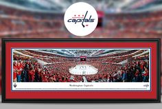 Washington Capitals Panoramic Pictures & Posters