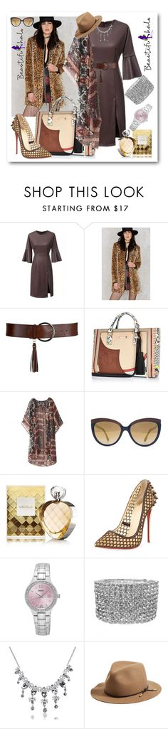 """BEAUTIFULHALO.COM-IV-42"" by ane-twist ❤ liked on Polyvore featuring Mo:Vint, River Island, Diesel, Elizabeth Arden, Christian Louboutin, Seiko, rag & bone, vintage and beautifulhalo"