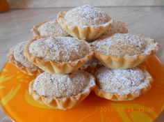 Hungarian Desserts, Hungarian Recipes, Mini Tart, Food Cakes, Winter Food, Holiday Recipes, Cookie Recipes, Muffin, Food And Drink