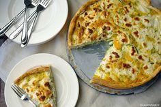 Lente quiche met courgette en geitenkaas 3