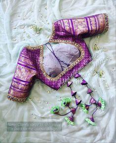 Saree Jacket Designs, Wedding Saree Blouse Designs, Pattu Saree Blouse Designs, Kurta Designs, Hand Work Blouse Design, Simple Blouse Designs, Stylish Blouse Design, Blouse Neck Designs, Blouse Patterns