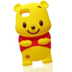 Winnie the Pooh 3D iPod touch 5 Soft Silicone Case Cover for iTouch 5g 5th Generation