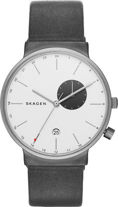 SKAGEN GENTS SKW6319 Ancher Silver Dial Watch – H & S Jewellers