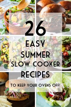 Community Post: 26 Easy Summer Slow Cooker Recipes To Keep Your Oven Off!